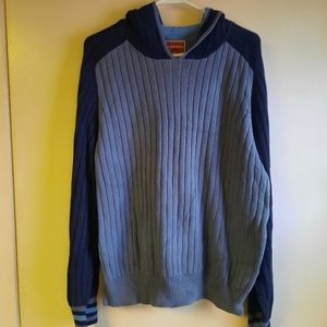 Tommy Hilfiger hoodie blue size large